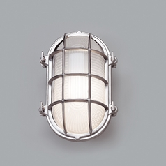 Norwell Lighting Mariner Chrome Outdoor Wall Light
