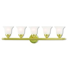 Livex Lighting Neptune Polished Brass Bathroom Light