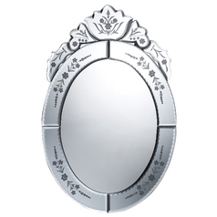 Kingstree Oval 12-Inch Mirror