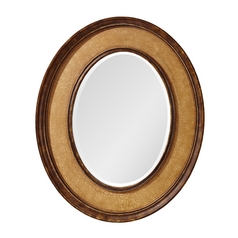 Evelyn Oval 29.5-Inch Mirror