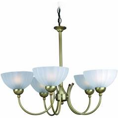 Lite Source Lighting Alani Bronze Chandelier