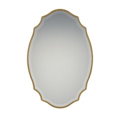 Reflections Oval 24-Inch Decorative Mirror
