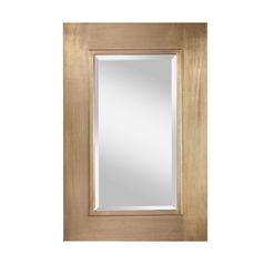 Feiss Lighting Smythe Rectangle 24-Inch Mirror MR1140SLP