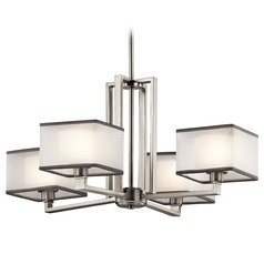 Kichler Lighting Kailey Brushed Nickel Chandelier