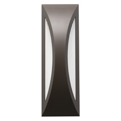 Kichler Lighting Cesya Architectural Bronze LED Outdoor Wall Light