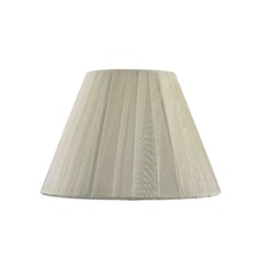 Clip-On Empire Pleated Opaque Lemon Lamp Shade