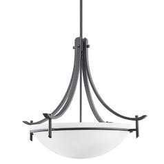 Kichler Modern Pendant Light in Distressed Black Finish