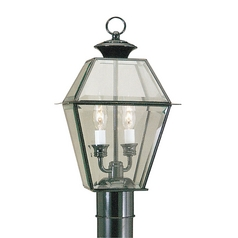 Livex Lighting Westover Black Post Light