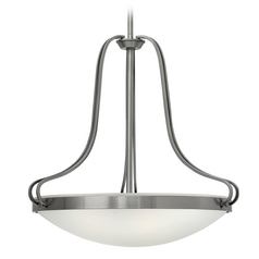 Hinkley Lighting Paxton Polished Antique Nickel Pendant Light