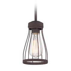 Designers Fountain Brooklyn Bronze Mini-Pendant Light