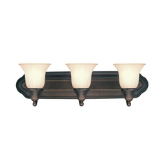 Dolan Designs Three-Light Energy Star Qualified Bathroom Fixture 3713-78