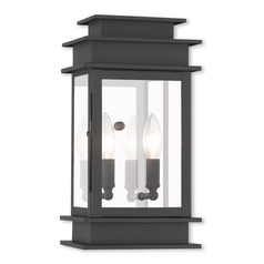 Livex Lighting Princeton Black Outdoor Wall Light
