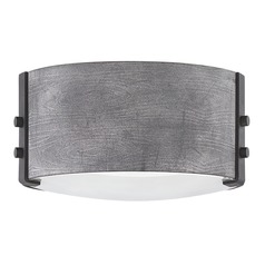 Hinkley Lighting Sawyer Aged Zinc Close To Ceiling Light