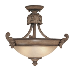 Dolan Designs Semi-Flush Ceiling Light Fixture 2455-54