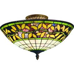 Elk Lighting Tiffany Semi-Flush Ceiling Light 933-TB