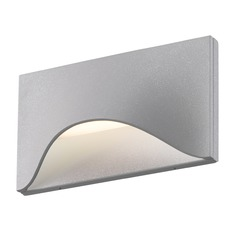 Sonneman Tides Textured Gray LED Outdoor Wall Light
