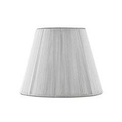 Clip-On Empire White Lamp Shade