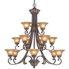 Dolan Designs Lighting Fifteen-Light Chandelier 829-38