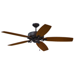 Craftmade Lighting Patterson Aged Bronze Highlight Ceiling Fan Without Light