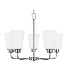Sea Gull Kerrville Brushed Nickel Mini-Chandelier