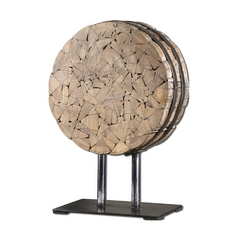 Uttermost Lighting Sculpture in Fir Wood Finish 19713