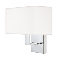 Modern Sconce Wall Light in Polished Chrome Finish