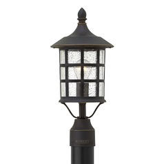 Hinkley Lighting Freeport Oil Rubbed Bronze Post Light