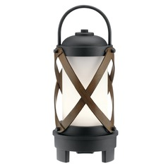 Kichler Lighting Berryhill Textured Black LED Outdoor Table Lamp 250LM 3000K