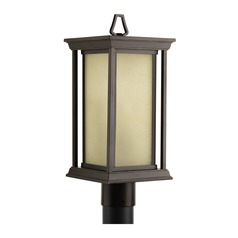 Progress Lighting Endicott Antique Bronze Post Light