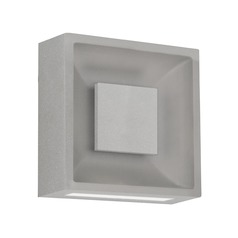 Kuzco Lighting Modern Grey LED Outdoor Wall Light 3000K 280LM