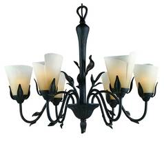 Quoizel Lighting Six-Light Chandelier YU5149IB