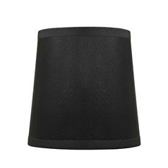 Clip-On Empire Black Lamp Shade
