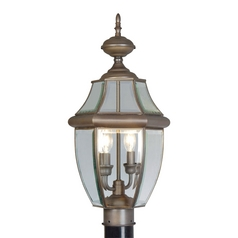Livex Lighting Monterey Bronze Post Light