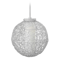 Hinkley Lighting Spago Cloud Pendant Light with Cylindrical Shade