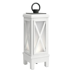 Kichler Lighting Montego Weathered White LED Outdoor Table Lamp 250LM 3000K