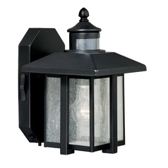 Seeded Glass Outdoor Wall Light Oil Rubbed Bronze Vaxcel Lighting