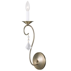 Livex Lighting Chesterfield/pennington Antique Brass Sconce