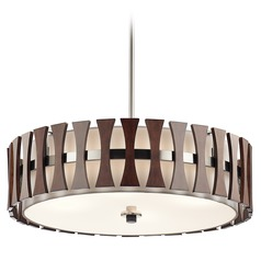 Kichler Lighting Cirus Pendant Light with Drum Shade