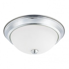 Capital Lighting Ceiling Chrome Flushmount Light