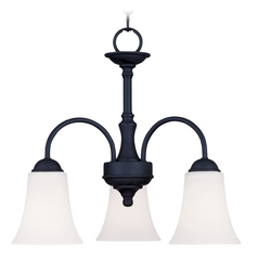 Livex Lighting Ridgedale Black Mini-Chandelier