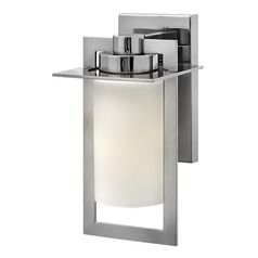 Hinkley Lighting Colfax Polished Stainless Steel LED Outdoor Wall Light