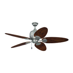 Craftmade Lighting Kona Bay Brushed Satin Nickel Ceiling Fan Without Light