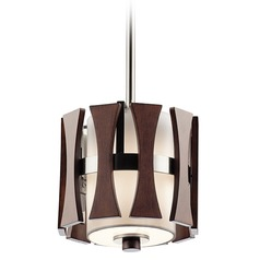 Kichler Lighting Cirus Mini-Pendant Light with Cylindrical Shade