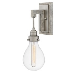Hinkley Lighting Denton Pewter Sconce