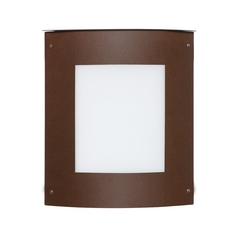 Contemporary / Modern Outdoor Wall Light Bronze Moto by Besa Lighting