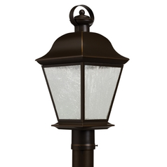 Kichler Lighting Kichler Lighting Mount Vernon Olde Bronze LED Post Light 9909OZLED