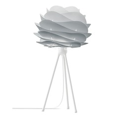 UMAGE White Table Lamp with Abstract Shade