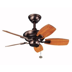 Kichler Lighting Kichler 30-Inch Ceiling Fan with Five Blades 300103-OBB