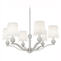 Norwell Lighting Roule Brush Nickel Chandelier
