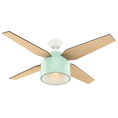 Hunter Fan Company Cranbrook Mint LED Ceiling Fan with Light
